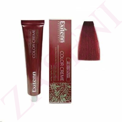 EXITENN COLOR CREME 8EX ROJO ARDIENTE 100ML