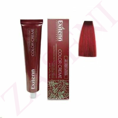 EXI2 ROJO FUCSIA 100ML. EXITENN COLOR CREME