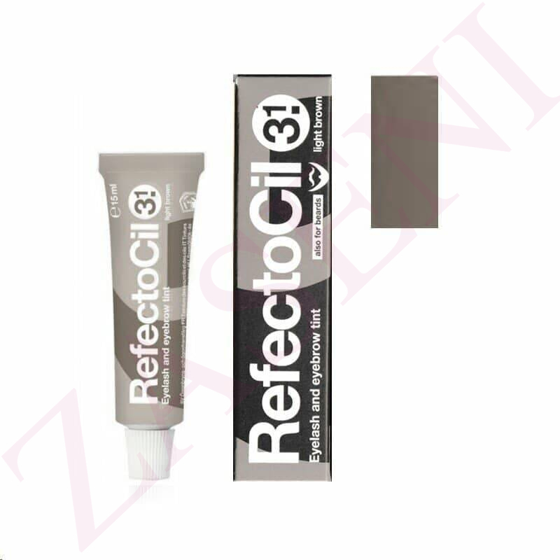REFECTOCIL TINTE PESTAÑAS MARRON CLARO Nº3.1-15ML