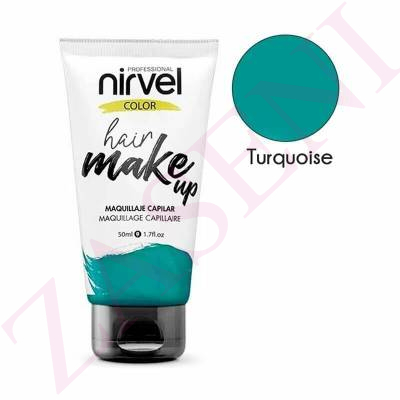 NIRVEL HAIR MAKE UP TURQUESA 50ML