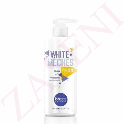 MASCARILLA 500 ML ADIOS AMARILLO YELLOFF BBCOS WHITE MECHES