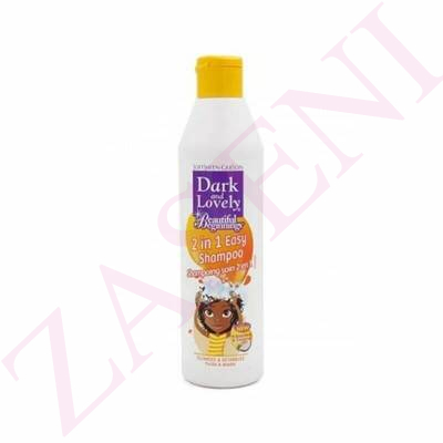DARK AND LOVELY CHAMPÚ 2 EN 1 LIMPIEZA PERFECTA 250ML