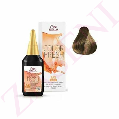 WELLA COLOR FRESH Nº 6/0 75ML