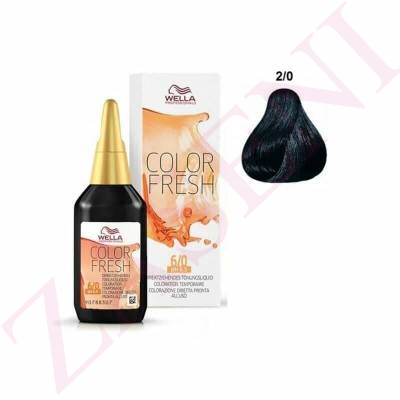 WELLA COLOR FRESH Nº 2/0 75ML