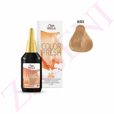 WELLA COLOR FRESH Nº 8/03 75ML