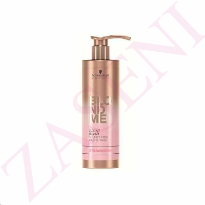 SCHWARZKOPF BLODME BLUSHWASH STRAWBERRY 250ML