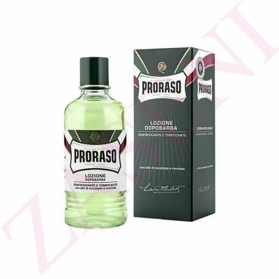 PRORASO AFTER SHAVE LOCION EUCALYPTUS 400ML