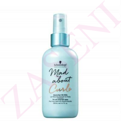 SCHWARZKOPF LECHE MAD ABOUT CURLS 200ML