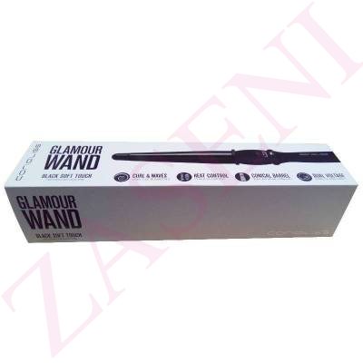 CORIOLISS RIZADOR GLAMOUR WAND BLACK SOFT TOUCH