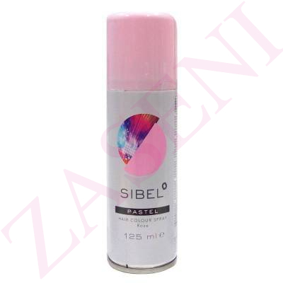 SIBEL LACA COLOR ROSA PASTEL 125ML