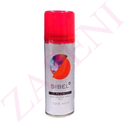 SIBEL LACA COLOR ROJO FLUOR 125ML