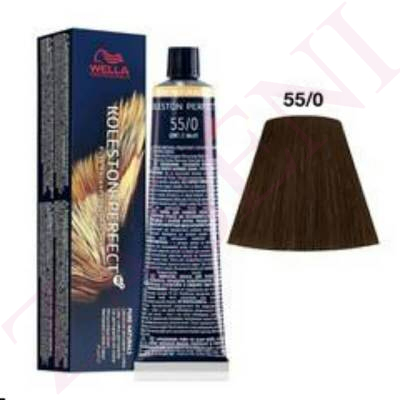 55/0 CASTAÑO CLARO INT. WELLA KOLESTON P. ME+ PURE NATURALS