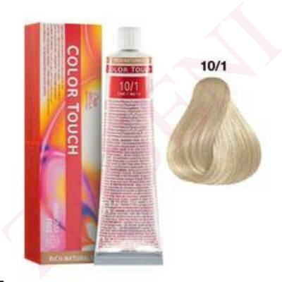 10/1 RUBIO S.CL.CENIZA WELLA COLOR TOUCH RICH NATUR.SIN AMON
