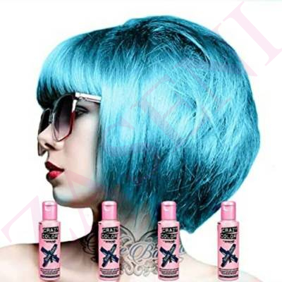 CRAZY COLOR CREMA COLORANTE CABELLO BLUE JADE 67 100ML