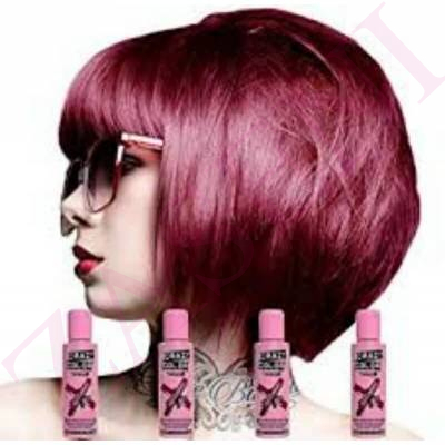 CRAZY COLOR CREMA COLORANTE CABELLO BORDEAUX 51 100ML