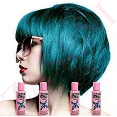 CRAZY COLOR CREMA COLORANTE CABELLO PEACOCK BLUE 45 100ML