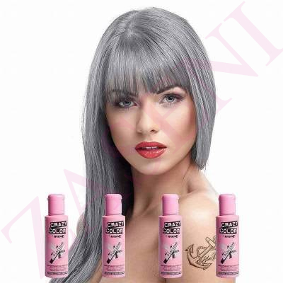 CRAZY COLOR CREMA COLORANTE CABELLO PLATINUM 28 100ML