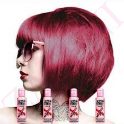 CRAZY COLOR CREMA COLORANTE CABELLO RUBY ROUGE 66 100ML