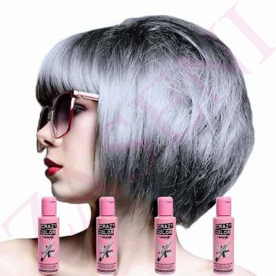 CRAZY COLOR CREMA COLORANTE CABELLO SILVER 027 100ML