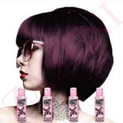 CRAZY COLOR CREMA COLORANTE Nº 50 CABELLO AUBERGINE 100ML