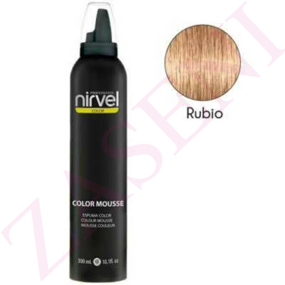 NIRVEL ESPUMA COLOR 300ML RUBIO