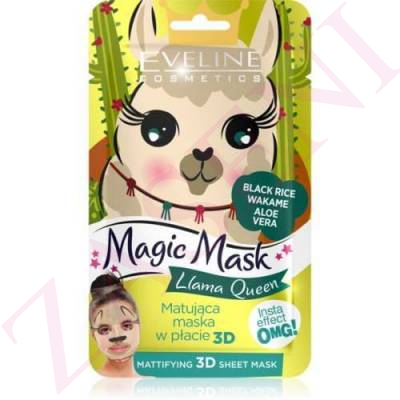 EVELINE MASCARILLA FACIAL MAGIC LLAMA QUEEN