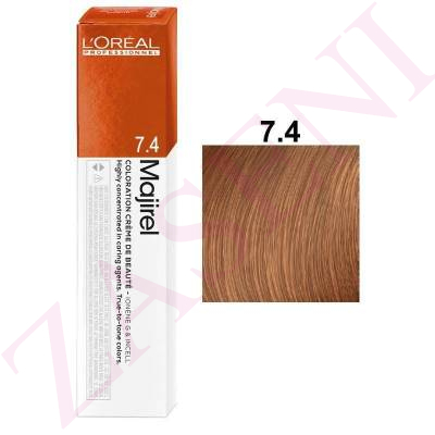 LOREAL MAJIREL 7.4 RUBIO COBRIZO 50ML