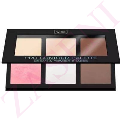 WIBO PALETA CONTOURING FACIAL LIGHT
