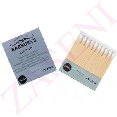 BARBURYS BASTONCITOS CICATRIZANTES 10PCS