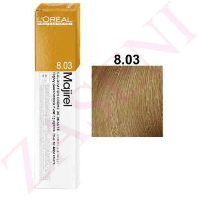 LOREAL MAJIREL 8.03 RUBIO NATURAL DORADO 50 ML