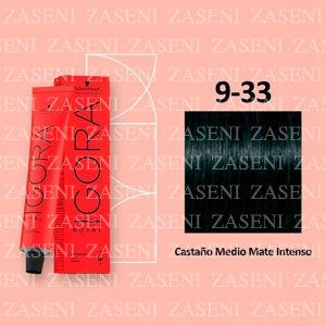 4-33 CASTAÑO MATE INTENSO SCHWARZKOPF IGORA ROYAL 60ML