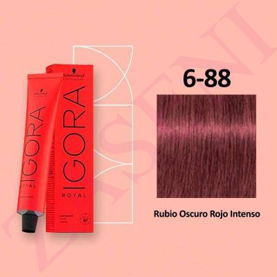 6-88 RUBIO ROJO INTEN SCHWARZKOPF IGORA ROYAL HIGHLIFTS 60ML