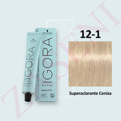 12-1 SUPERACLARANTE SCHWARZKOPF IGORA ROYAL HIGHLIFTS 60ML