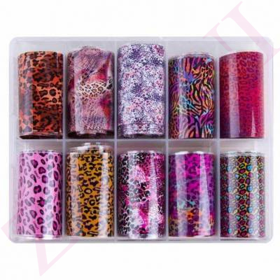 MOLLY LAC PACK FOIL ANIMAL PRINT