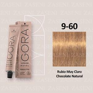9-60 RUBIO EXTRA CLAR SCHWARZKOPF IGORA ROYAL ABSOLUTES 60ML