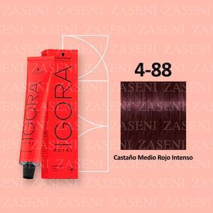 4-88 CASTAÑO MEDIO ROJO SCHWARZKOPF IGORA ROYAL 60ML